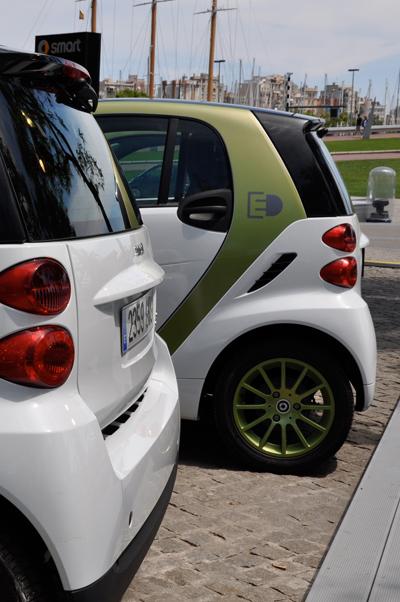 Smart Urban Stage und Smart electric drive@Barcelona
