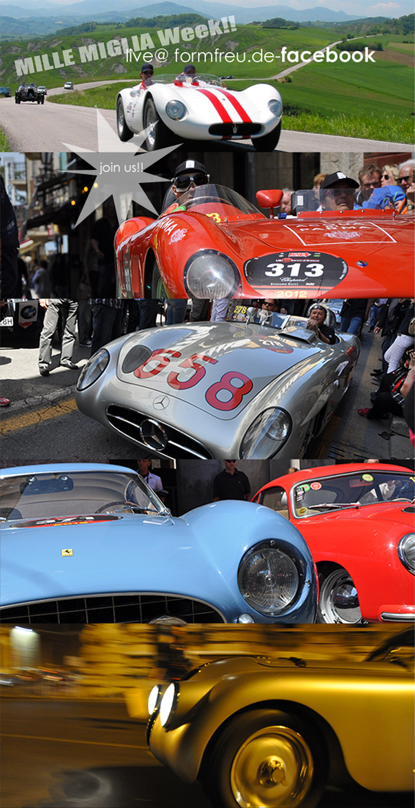 Mille Miglia 2012____join us live @ facebook