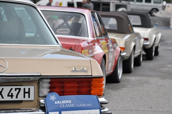 Arlberg Classic Car Rallye 2013