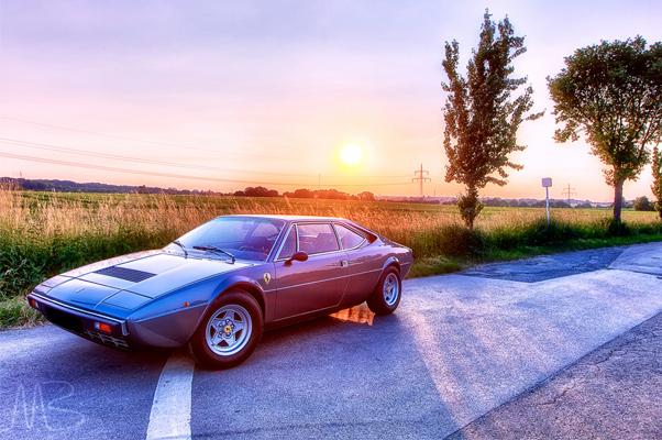 Ferrarigeschichten: Dirks GT4__Grigio Fumo