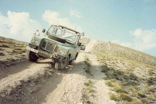 Rückspiegel: Alpentour 1991