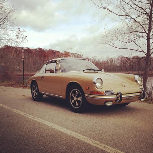 Porschegeschichten: Evan und sein sandbeiger 2,0 SWB 911