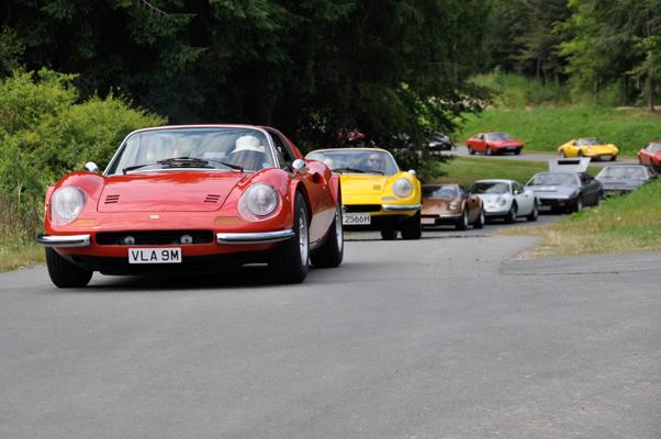 11. FCD Ferrari Dino-Ausfahrt