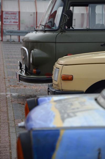 25 Jahre Mauerfall – Trabant Sternfahrt durch Berlin