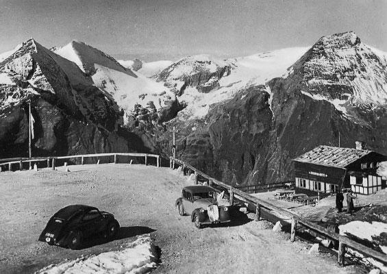 Reise 1939 vom 29.VI. bis zum 4.VIII: Glocknerstrasze