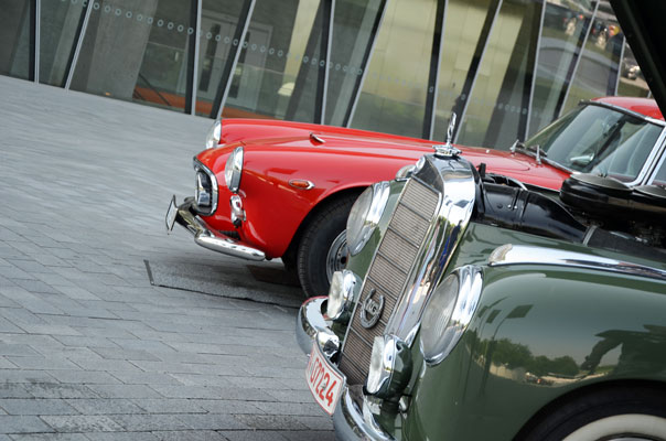 Image: Cars  Coffee @ Mercedes-Benz Museum