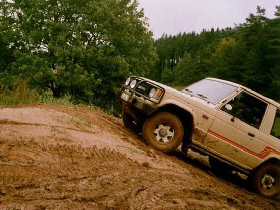 Rückspiegel: Mitsubishi Pajero @ Ralliart Offroad Training