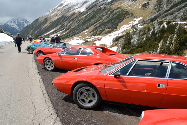 50 Jahre Fiat Dino __Frühjahrsausfahrt Dino Register Deutschland