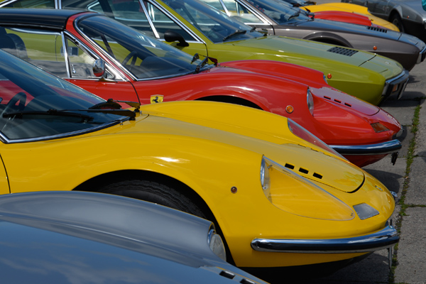 13. FCD Ferrari Dino-Ausfahrt