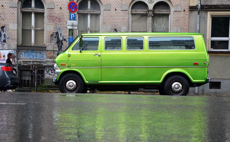 Garish Green: Econoline Berlin